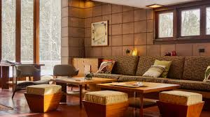frank lloyd wright living room you can stay at this frank lloyd wright house cowboys and indians