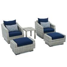 Chair Ottoman Set Ottomans Club Chair Ottoman Set Com Sams And Alicia Fabric With