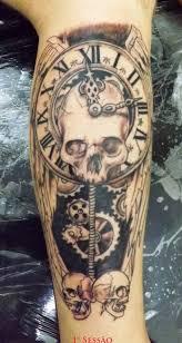 clock sleeve tattoo u2013 truetattoos