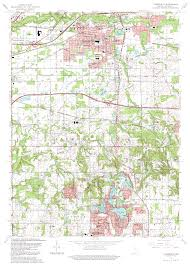 Topographical Map Of United States by Porter County Indiana Genweb Usgs Topographical Maps
