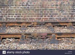 railway track bullhead rail concrete sleepers rail held in