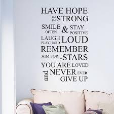 similiar wall art inspirational quotes keywords inspirational wall quote sticker nutmeg notonthehighstreet