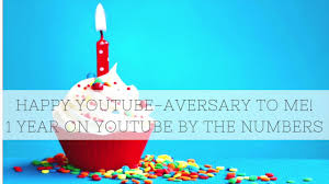 happy youtube aversary to me one year on youtube by the numbers