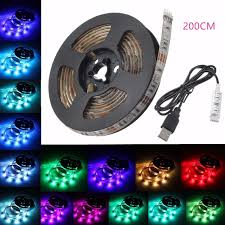 pc led light strips amazon com usb led strip light glisteny tv backlight 15 leds