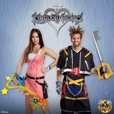 Kingdom Hearts Halloween Costumes Kingdom Hearts 2 Sora Kairi Spirit Halloween Costumes