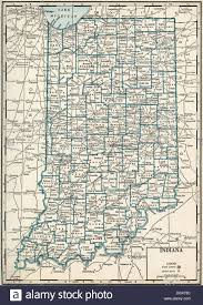 State Of Indiana Map by Old Map Of Indiana State 1930 U0027s Stock Photo Royalty Free Image