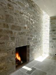 architecture unique brione home interior decorated with stone