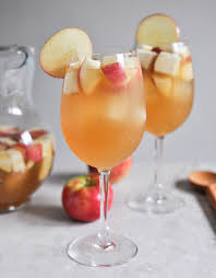 Non Alcoholic Thanksgiving Drinks Apple Cider Sangria
