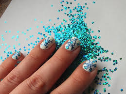 snowflakes nail art des flocons de neige pour les fêtes youtube