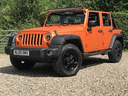 jeep wrangler orange used 2009 jeep wrangler unlimited sport for sale in