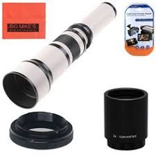 amazon black friday canon opteka 500 1000mm f 8 high definition preset telephoto lens for