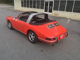1968 porsche 911 targa for sale 1968 porsche 911 window targa tangerine for sale in