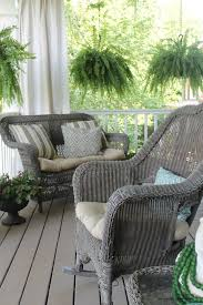 Ideas For Painting Garden Furniture by Best 25 Wicker Porch Furniture Ideas On Pinterest White Wicker