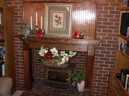 fireplace wood fireplace mantel gallery with flowers and candle