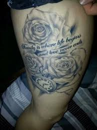 rose tattoos for dad google search tattoo ideas pinterest