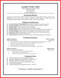 Sample Medical Office Manager Resume by 100 Sample Collection Letters For Medical Office Letter