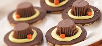 pilgrim hat cookies recipe thanksgiving