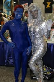 Mystique Halloween Costume 28 Comic Couples Totally Nailed Cosplay Emma