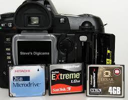 Memory Card Nikon D70 nikon d70 slr review features controls cont steves digicams