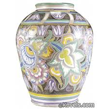 Poole Pottery Vase Patterns Antique Poole Pottery Pottery U0026 Porcelain Price Guide Antiques