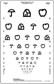 pediatric eye chart printable printable maps