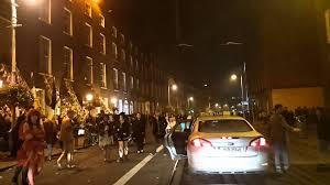 Halloween Night Light by Halloween Night In Dublin Driving Around Youtube