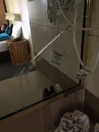broken vanity mirror siloconed back together picture of karinga
