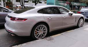crayon colored 2017 porsche panamera turbo spotted on paris streets