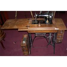 Antique Singer Sewing Machine Table Antique Singer Sewing Machine 1913