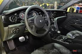 bentley cars inside 2016 bentley mulsanne speed facelift interior at the 2016 geneva