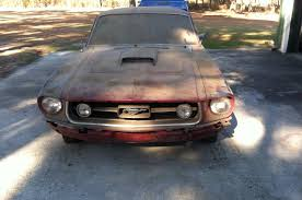 pictures of 1967 mustang fastback 1967 ford mustang 390 gt fastback barn find rod