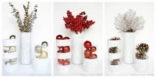 Dollar Store Cylinder Vases Winter Vases Using Dollar Store Finds Taryn Whiteaker
