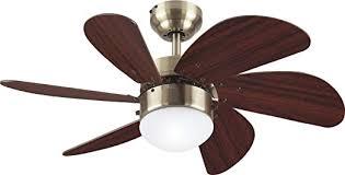 Ceiling Fan Amazon by Westinghouse 78248 Turbo Swirl Single Light 30 Inch Six Blade
