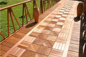 15 wooden tiles ideas for inviting outdoor flooring to get idea