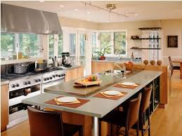 how to design a kitchen island with seating kitchen island with seating and wine rack modern kitchen