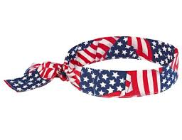 cooling headband chill its 6700 evaporative cooling bandana w tie closure