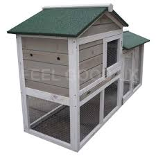 feelgooduk double decker with run rabbit hutch hutches guinea pig