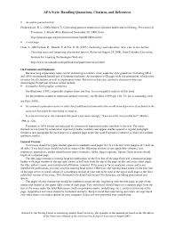 collection of solutions apa format personal interview in text
