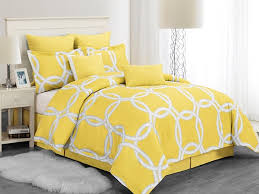 Yellow Bedding Set Redington Hotel 8pc Comforter Set Yellow 2 Sizes