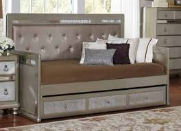 bling game daybed with trundle 300569 savvy discount furniture