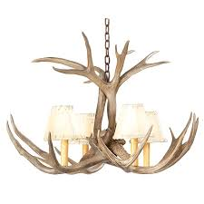 How To Make Deer Antler Chandelier Deer Antler Lamps For Sale Single Antler Lamp With Deer Shade