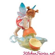 my kitchen fairies entire collection orange juice fairie from series of the my kitchen