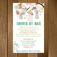 gifts to send in the mail rustic shower by mail baby shower invitation printable