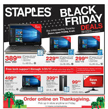 staples black friday 2016 ad deals on hdtvs windows 10 computers