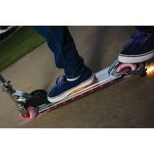 razor kick scooter light up wheels razor spark 2 0 scooter walmart com