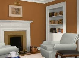 Wall Colors We Love For The Living Room Orange Living Rooms - Gold wall color living room