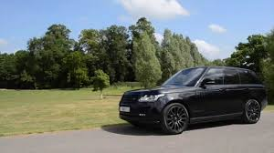 land rover black 2017 range rover autobiography black pack youtube