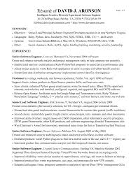 Sql Server Developer Resume Sample Software Engineer Resume Example Sample Software Developer