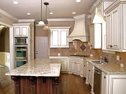 Magnificent White Kitchens With Granite Countertops Interior Home - Kitchen cabinets and countertops ideas