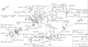 2001 nissan frontier engine diagram 1997 nissan pathfinder fuel